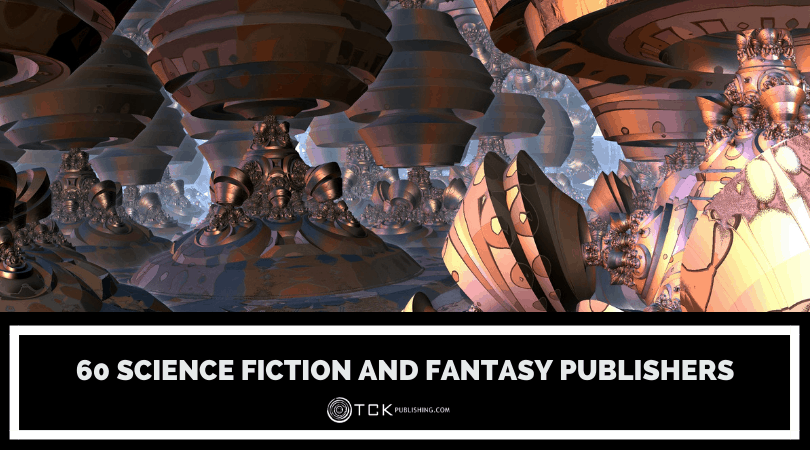 60 Science Fiction and Fantasy Publishers Image