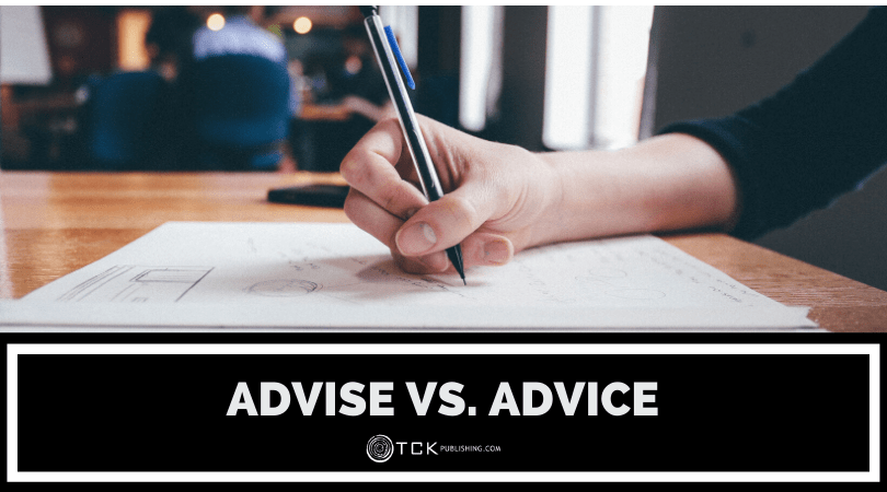 Advise vs. Advice: What's the Difference? Image