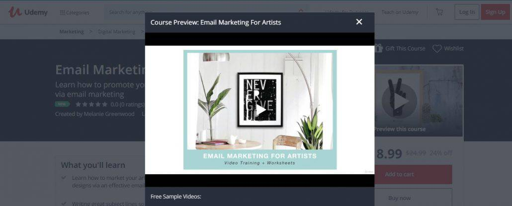 Email Marketing For Artists Image