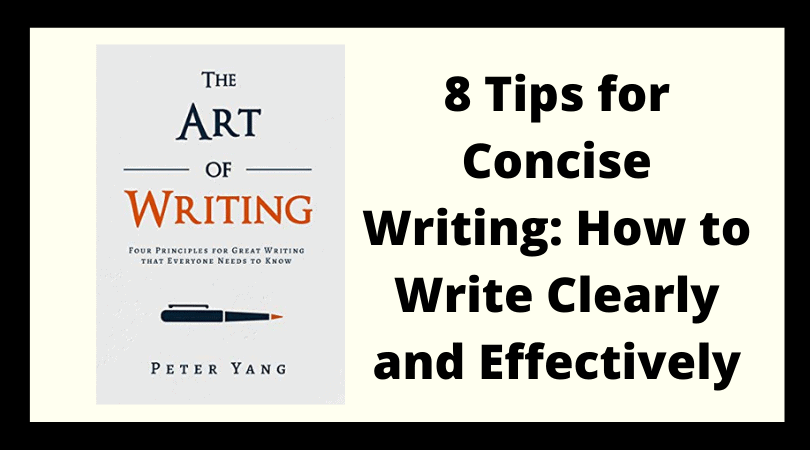 8 Tips for Concise Writing: How to Write Clearly and Effectively Image