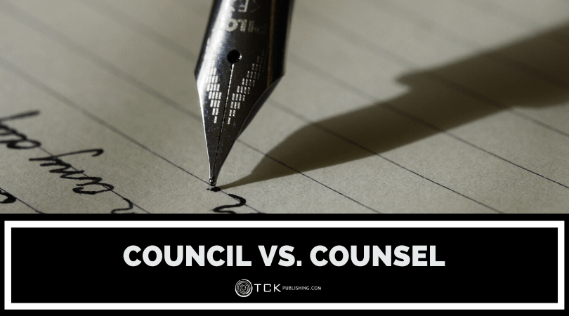 Council vs. Counsel: What's the Difference? image
