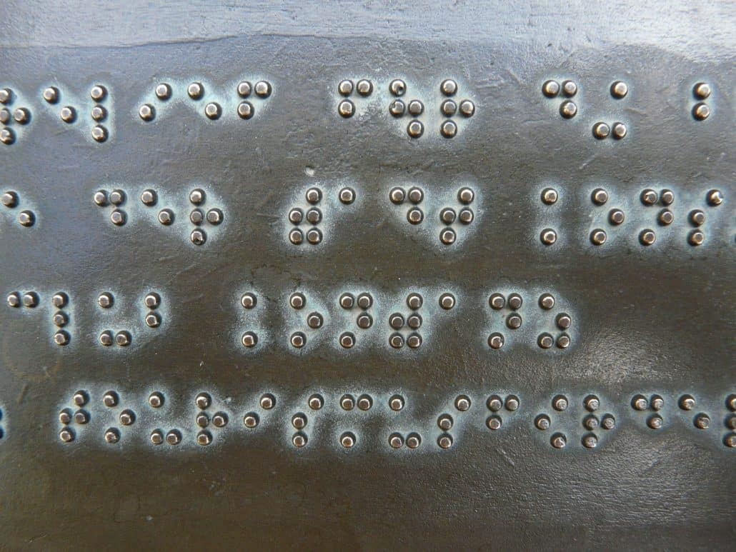 braille books image