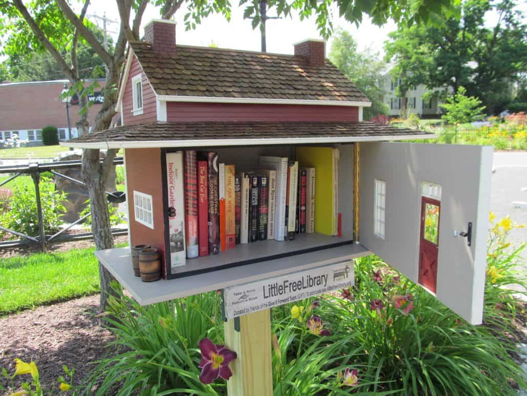 little free library image