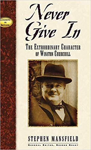 churchill biography cover image
