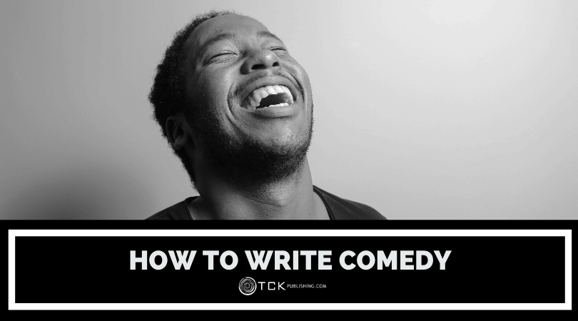 how to write comedy header image