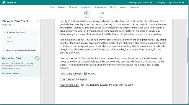 prowritingaid screenshot