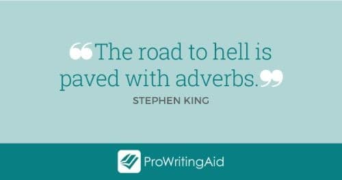stephen king adverbs quote