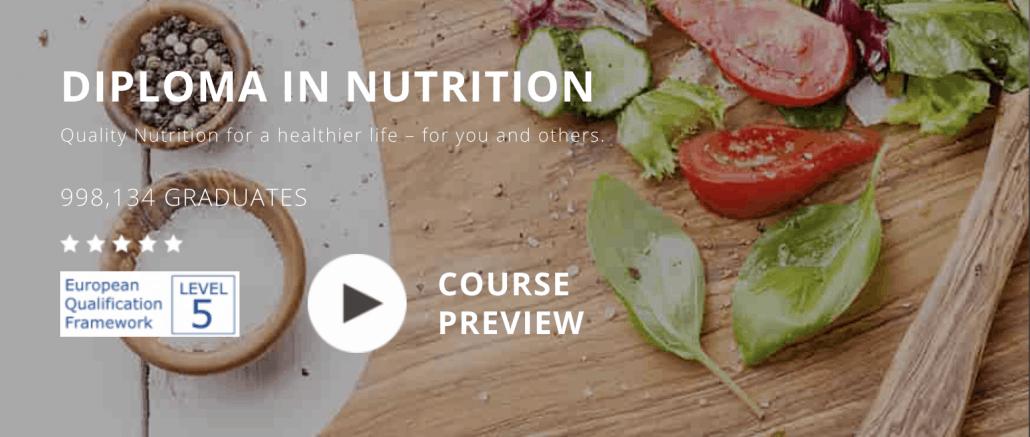 online nutrition course logo