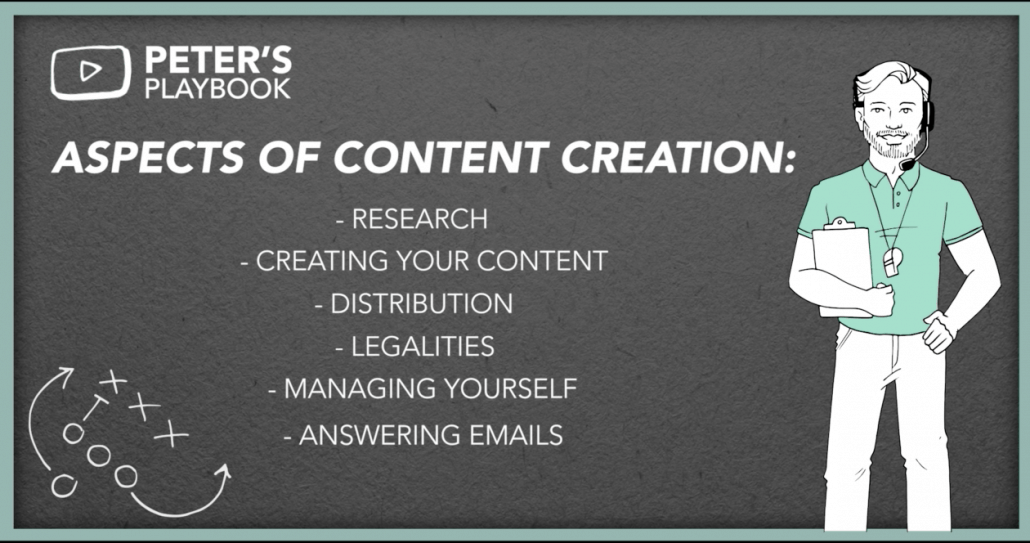 business course content creation screenshot