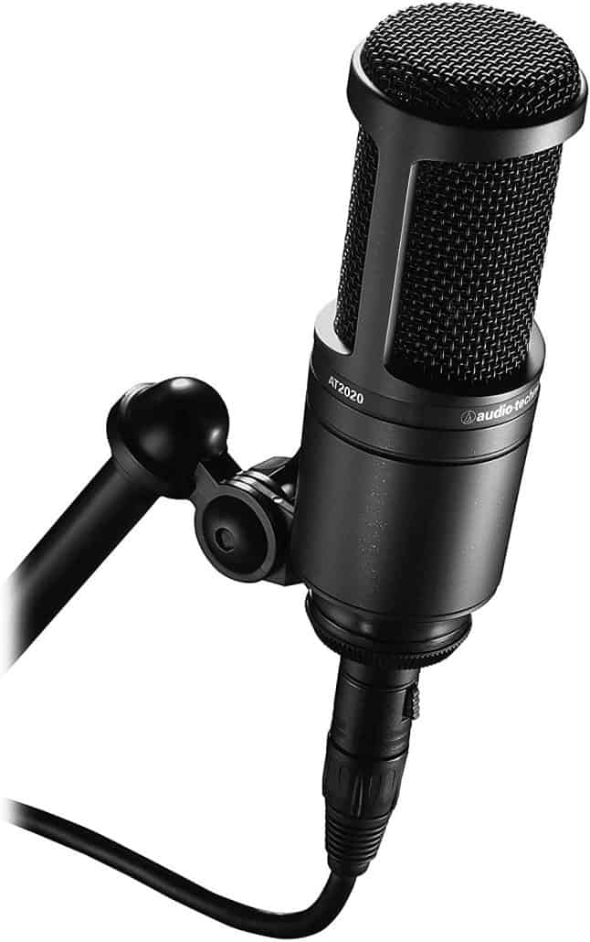 audio technica microphone image