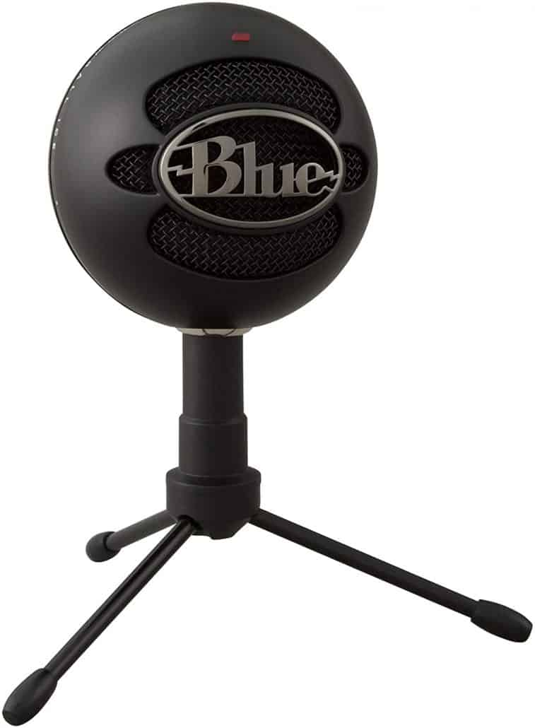 blue snowball microphone image