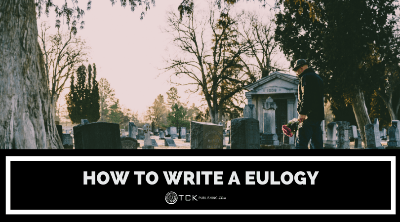 how to write a eulogy header image