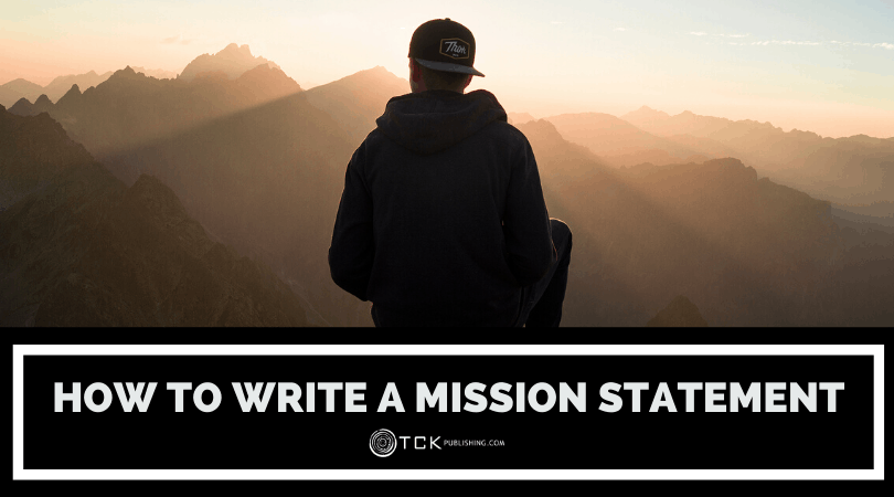 how to write a mission statement header image