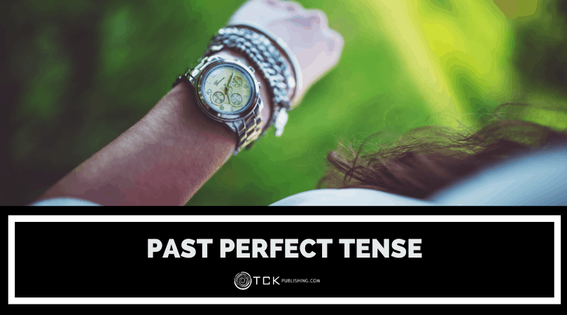 past perfect tense header image