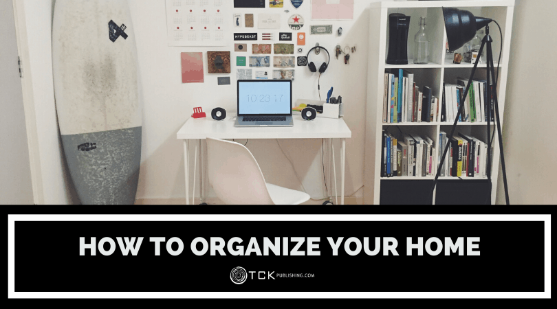 how to organize your home header image