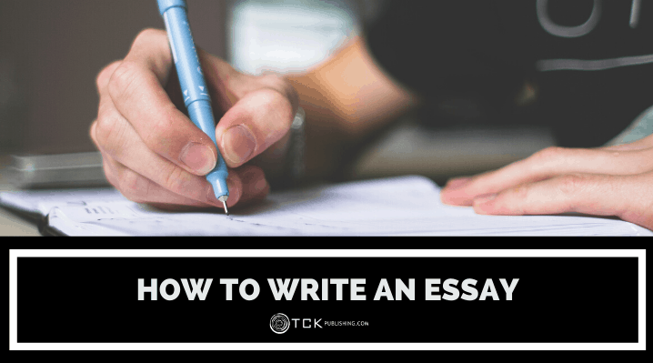 how to write an essay header image