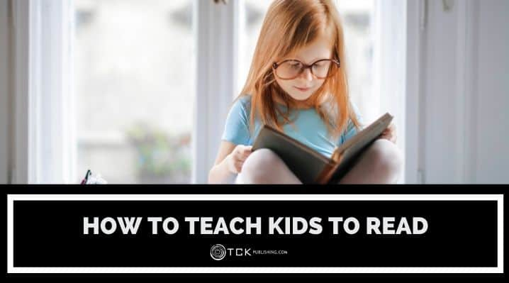 how to teach kids to read blog post image