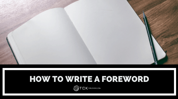 how to write a foreword header image