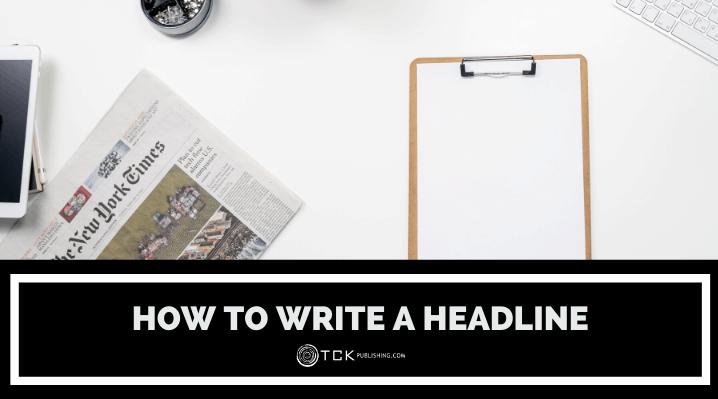 how to write a headline header image