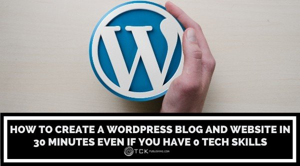 How to Create wordpress blog and website in 30minutes