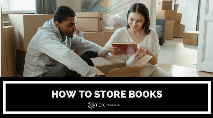 how to store books blog post image