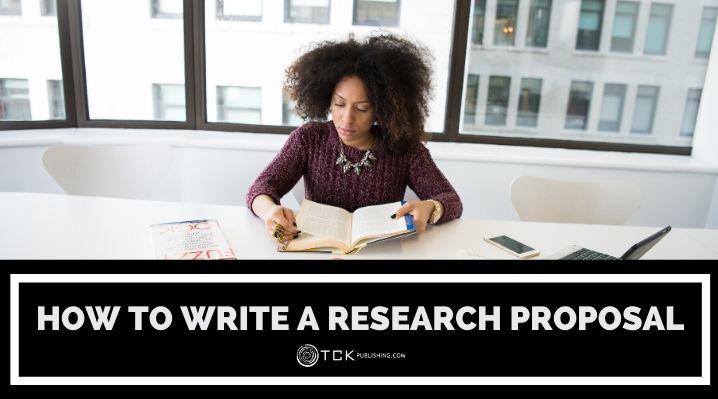 how to write a research proposal blog post image