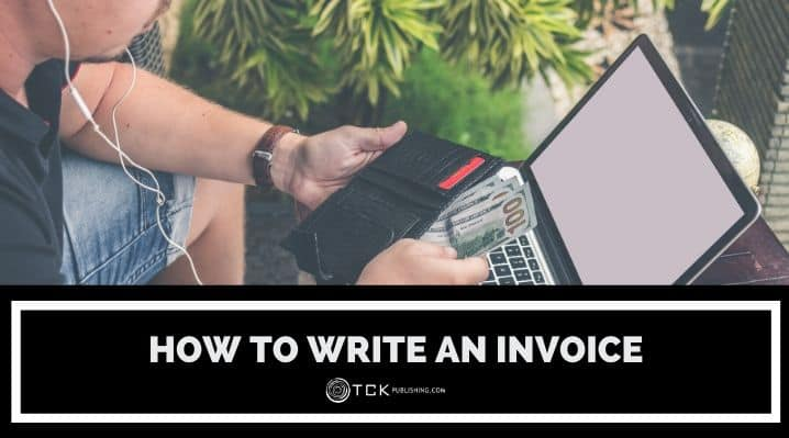 how to write an invoice blog post image