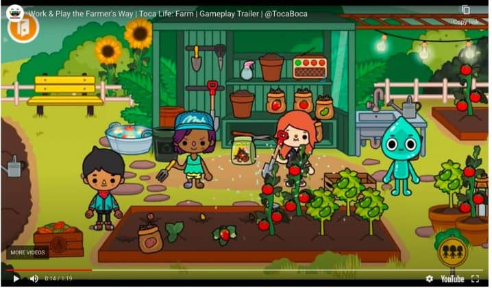 Toca Life Farm screenshot image