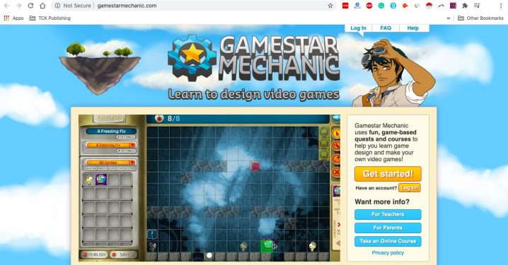 Gamestar Mechanic Screenshot Image