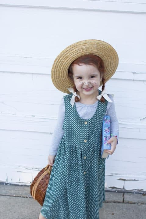 anne of green gables diy kids costume image