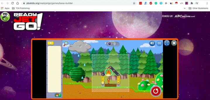 PBS Kids Base Builder Screenshot Image