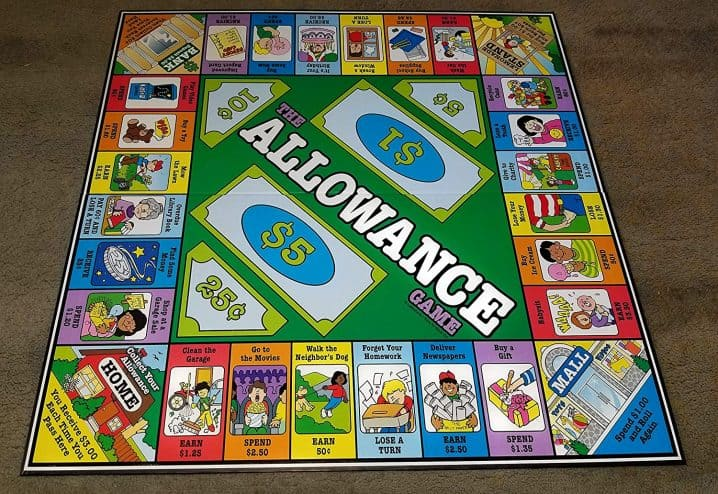 Allowance Game Screenshot Image