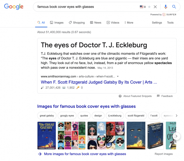 how to find a book based on cover image