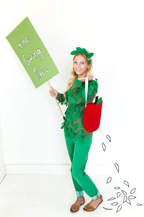 the giving tree costume image