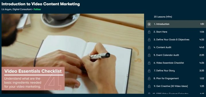 Introduction to Video Marketing Screenshot Image
