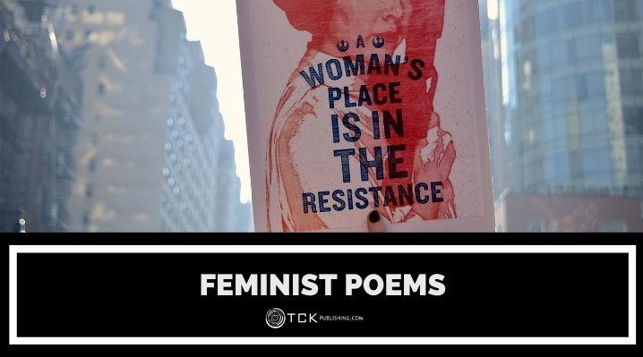 feminist poems blog post image