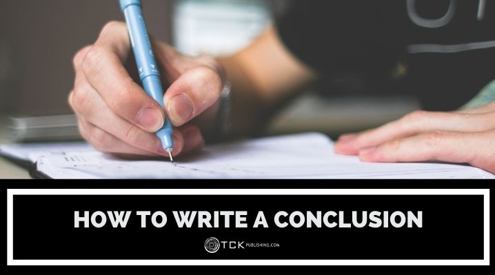 how to write a conclusion blog post image