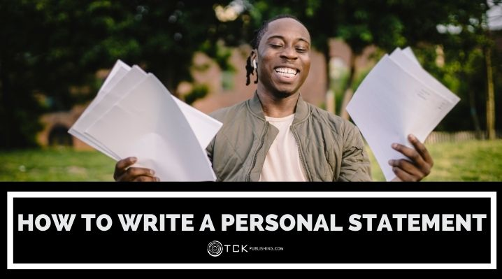 how to write a personal statement blog post image