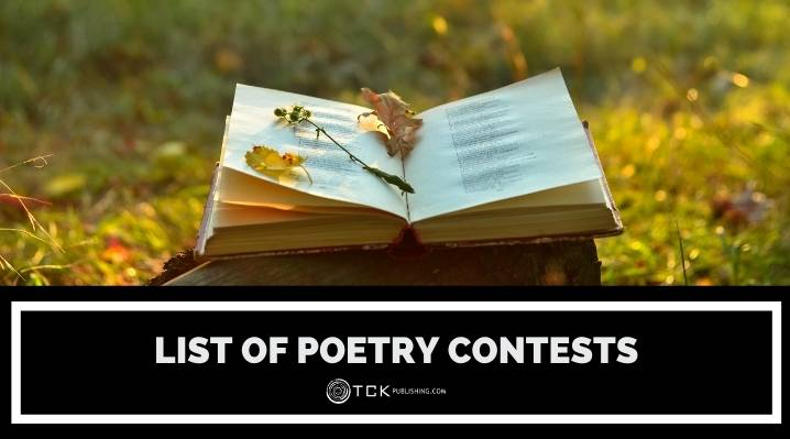 list of poetry contests blog post image